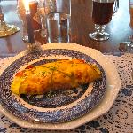 Candlelit breakfast