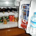 well stocked Minibar