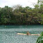 Take a boat ride in the dam