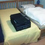 Doppelbett im 11qm Zimmer