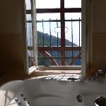 View from Jucuzzi Bathtub