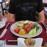 Breakfast == delicious!!
