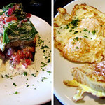 Picture of our Delicious Breakfast at Mean Mr. Mustard's Cafe in Hendersonville, NC