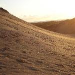 Braunton Burrows at sunset