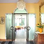Villa Costantina - Entrance