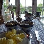 Silver service breakfast