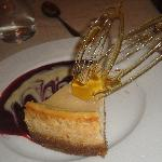 The weird taste of the cheese cake