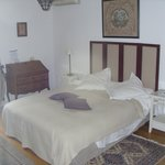 Light airy bedroom.