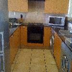 Very modern fully equiped kitchen