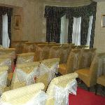The Bramley Suite where the ceremony was held