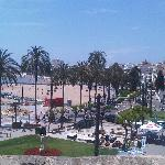 View of Sitges from the Church