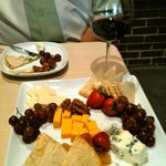 Delicious cheese platter!