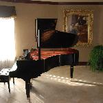 Baby Grand in Breakfast Area