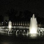 WWII Memorial at Night (Photo by Amanda Hecker)