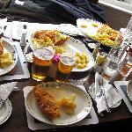 le mega porzioni di fish and chip