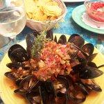 Amazing mussel dish