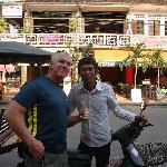 Me and MAX best tuk tuk driver in Siem Reap.