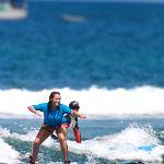 Friend surfing
