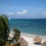 View of the ocean from our room!