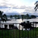 View from  QUEEN'S COURT RESTAURANT at The Hilo Hawaiian