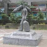 Merchant seaman statue