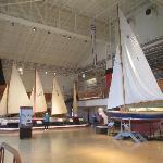 Sailboat exhibit