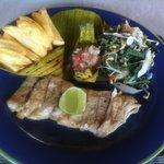 BBQ Mahi-Mahi fish