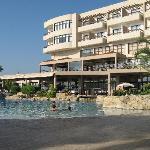 Atlantica Golden Beach pool and bar