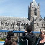The Green Bus on the Origianl route at St. Patrick's Cathedral