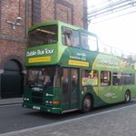 The Green bus at the home of the