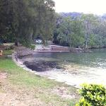 beach area outside Ilham Resort