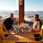 Frühstück und Dinner im Pointe-Restaurant: kulinarisch top, Blick sensationell