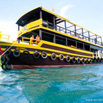 The boat they use, biggest one of all the dive companies