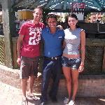 Us with El Sayed