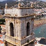 Vistas desde la torre del castillo Papa luna