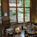 Dining Room where we had breakfast