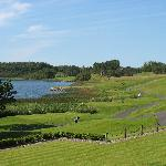 Vieof the golf course at Lough Erne Resort