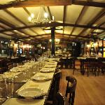 The restaurant at the Upper Deck