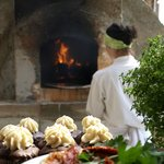 Wood Fire Pizza Oven & Gourmet Cupcakes