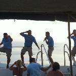 the boat crew for ritmos de la noche