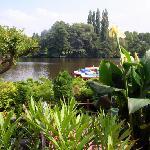View from bedroom of Wakenitz River
