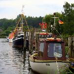 Boats on River Trave Gothmund