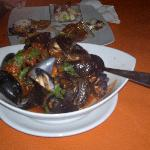 Mussels-tomato soup