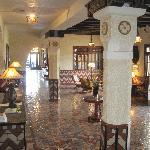 Lobby of Hotel Paisano