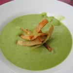 Cold avocado soup - yummy