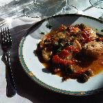"""Alcuni piatti de """"Il Gabbiano"""" : Pescespada in umido"""