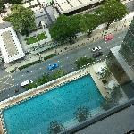 pool in 8th floor