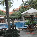 Zwembad Hotel Bali Rani