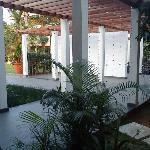 Walkway towards Diwa Wing