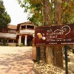 The Elephant Court à Periyar